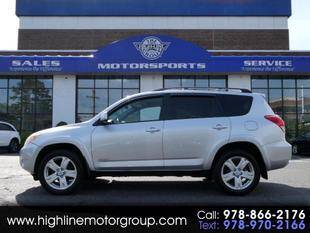 2006 Toyota RAV4 for sale at Highline Group Motorsports in Lowell MA