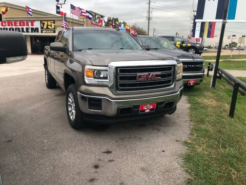 2015 GMC Sierra 1500 for sale at FREDY CARS FOR LESS in Houston TX