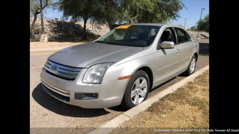 2007 Ford Fusion for sale at Noble Motors in Tucson AZ