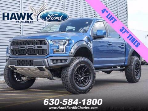 2020 Ford F-150 for sale at Hawk Ford of St. Charles in Saint Charles IL