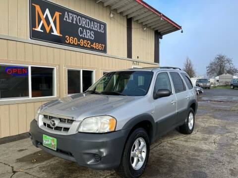 2006 Mazda Tribute for sale at M & A Affordable Cars in Vancouver WA
