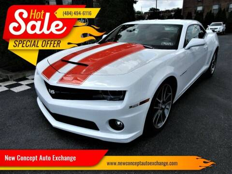 2010 Chevrolet Camaro for sale at New Concept Auto Exchange in Glenolden PA