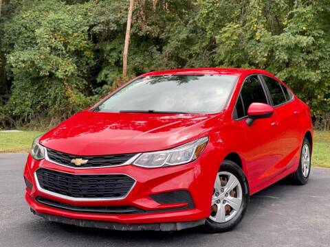 2017 Chevrolet Cruze for sale at Sebar Inc. in Greensboro NC