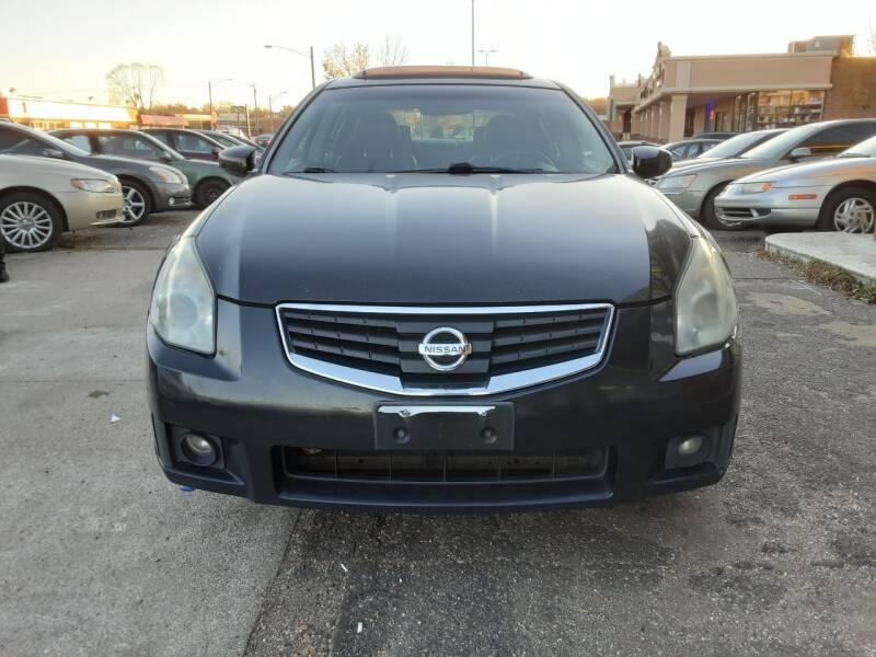 2008 Nissan Maxima for sale at Fredericksburg Auto Finance Inc. in Fredericksburg VA