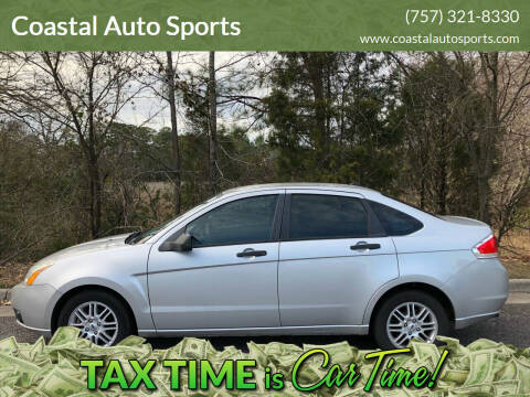 2009 Ford Focus for sale at Coastal Auto Sports in Chesapeake VA