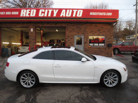 2016 Audi A5 for sale at Red City  Auto in Omaha NE