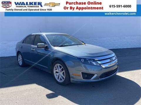 2011 Ford Fusion for sale at WALKER CHEVROLET in Franklin TN