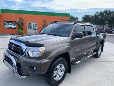 2013 Toyota Tacoma for sale at Galaxy Auto Service, Inc. in Orlando FL