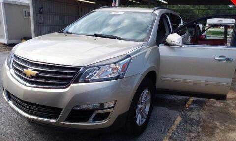 2014 Chevrolet Traverse for sale at Klassic Cars in Lilburn GA