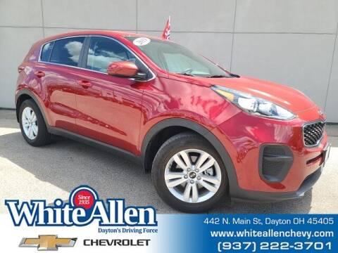 2019 Kia Sportage for sale at WHITE-ALLEN CHEVROLET in Dayton OH
