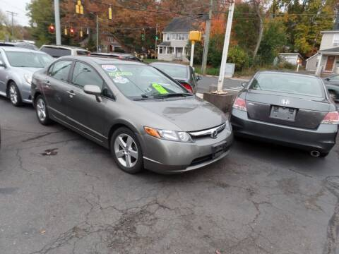 2007 Honda Civic for sale at CAR CORNER RETAIL SALES in Manchester CT