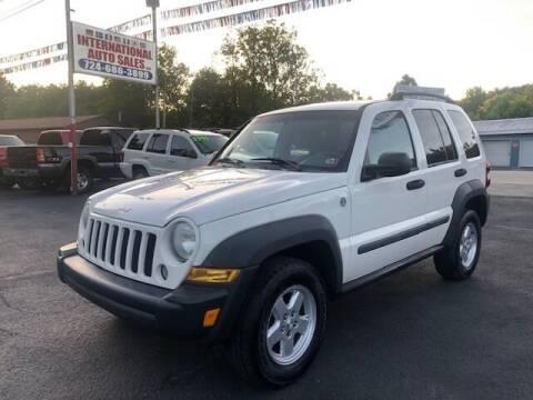 2007 Jeep Liberty for sale at INTERNATIONAL AUTO SALES LLC in Latrobe PA
