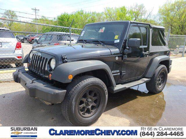 2012 Jeep Wrangler for sale at Suburban Chevrolet in Claremore OK
