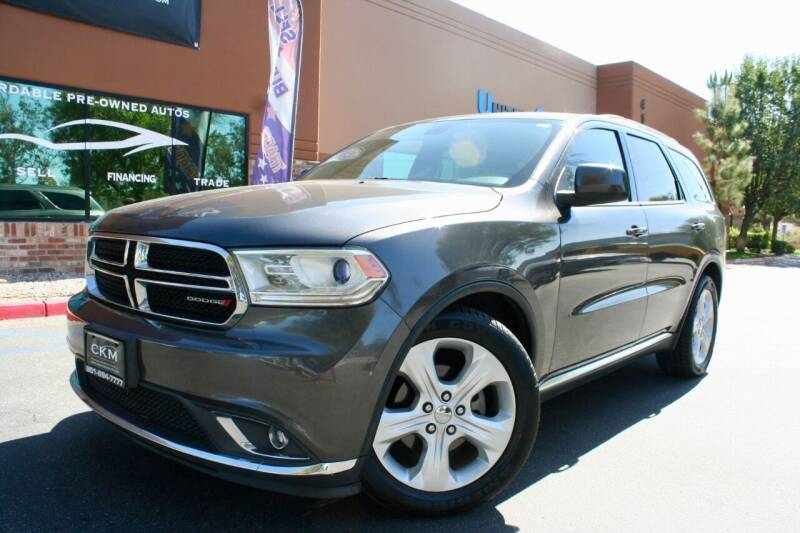 2014 Dodge Durango for sale at CK Motors in Murrieta CA