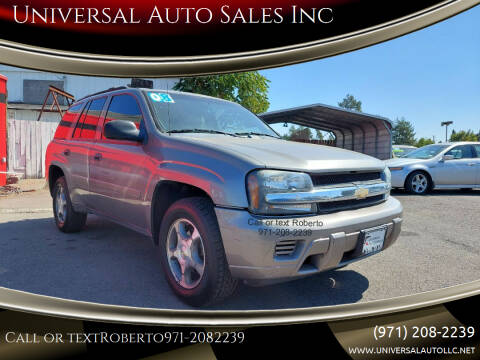 2008 Chevrolet TrailBlazer for sale at Universal Auto Sales Inc in Salem OR