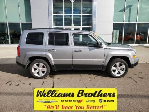2014 Jeep Patriot for sale at Williams Brothers - Pre-Owned Monroe in Monroe MI
