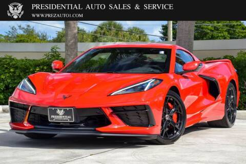 2020 Chevrolet Corvette for sale at Presidential Auto  Sales & Service in Delray Beach FL
