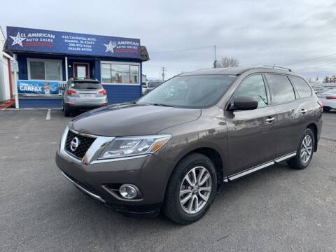 2015 Nissan Pathfinder for sale at All American Auto Sales LLC in Nampa ID