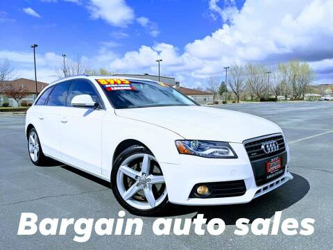 2009 Audi A4 for sale at Bargain Auto Sales LLC in Garden City ID