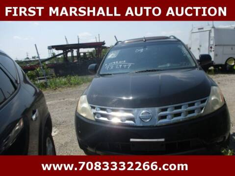 2005 Nissan Murano for sale at First Marshall Auto Auction in Harvey IL