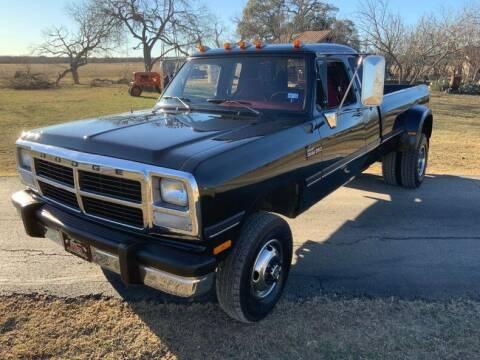 1993 Dodge RAM 350 for sale at STREET DREAMS TEXAS in Fredericksburg TX