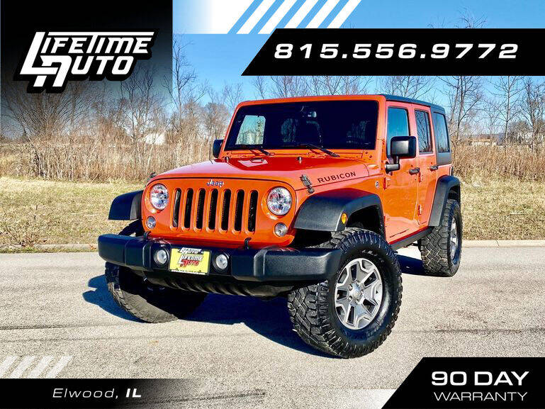2015 Jeep Wrangler Unlimited for sale at Lifetime Auto in Elwood IL