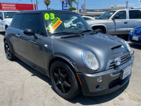 2003 MINI Cooper for sale at North County Auto in Oceanside CA