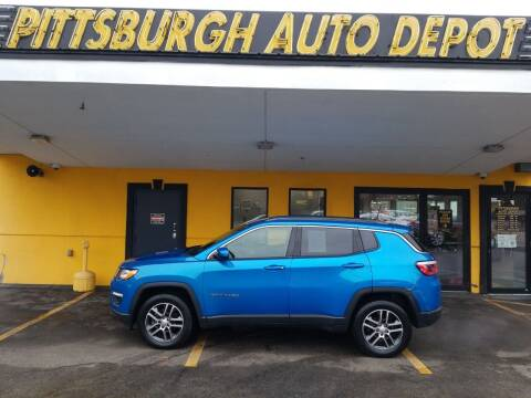 2017 Jeep Compass for sale at Pittsburgh Auto Depot in Pittsburgh PA