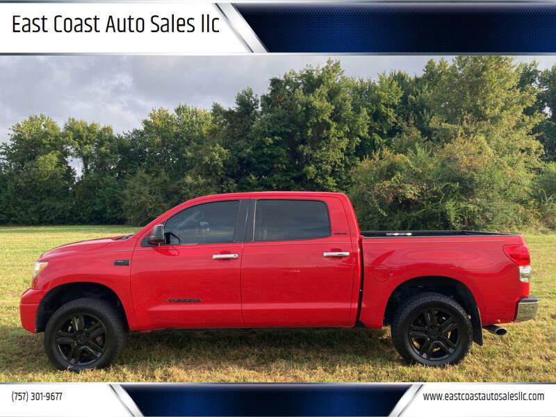 2008 Toyota Tundra for sale at East Coast Auto Sales llc in Virginia Beach VA