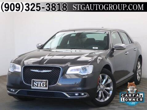 2019 Chrysler 300 for sale at STG Auto Group in Montclair CA