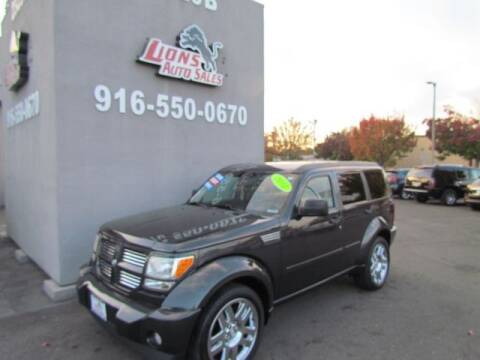 2011 Dodge Nitro for sale at LIONS AUTO SALES in Sacramento CA