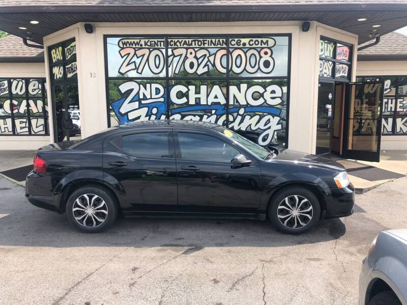 2012 Dodge Avenger for sale at Kentucky Auto Sales & Finance in Bowling Green KY