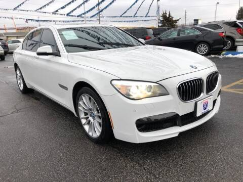 2013 BMW 7 Series for sale at I-80 Auto Sales in Hazel Crest IL