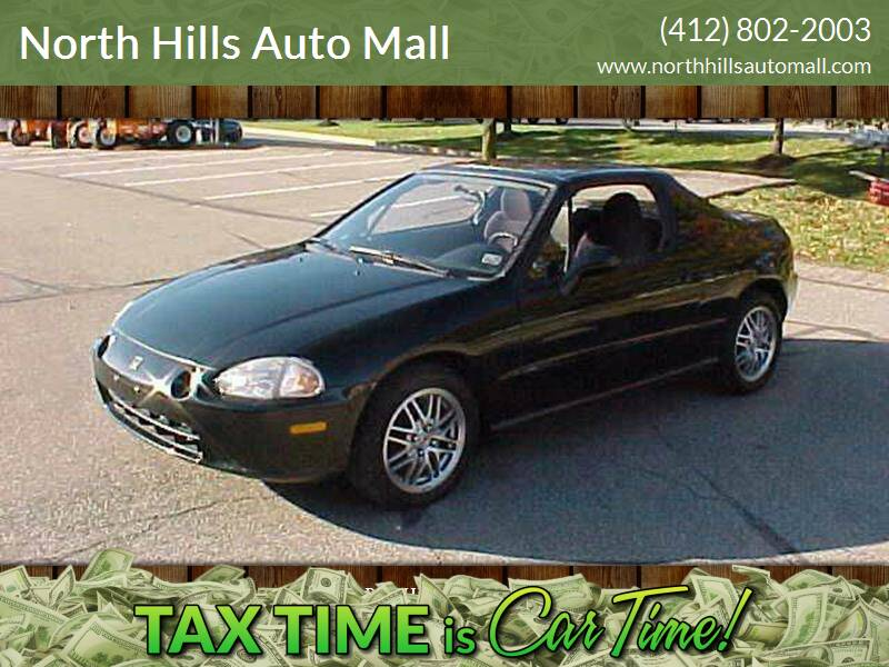 1994 Honda Civic del Sol S 2dr Coupe - Pittsburgh PA
