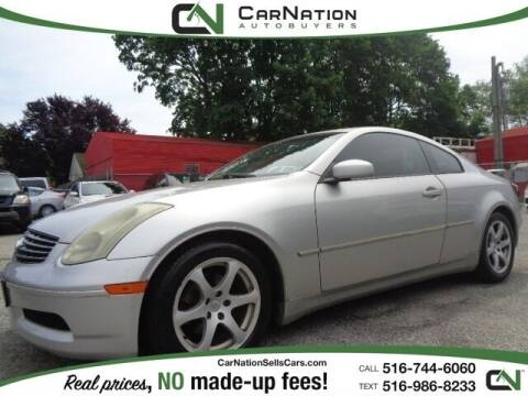 2003 Infiniti G35 for sale at CarNation AUTOBUYERS, Inc. in Rockville Centre NY