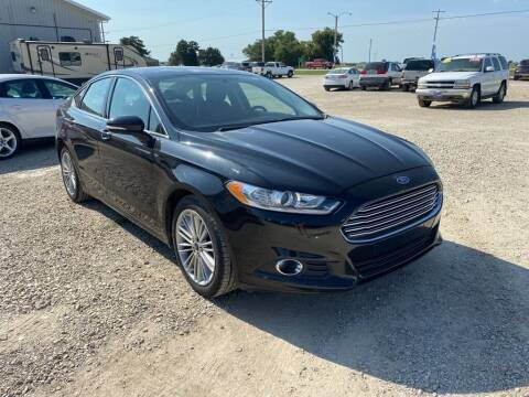 2013 Ford Fusion for sale at Becker Autos & Trailers in Beloit KS