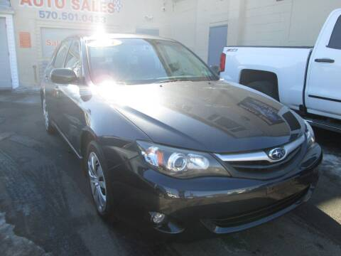 2011 Subaru Impreza for sale at Small Town Auto Sales in Hazleton PA
