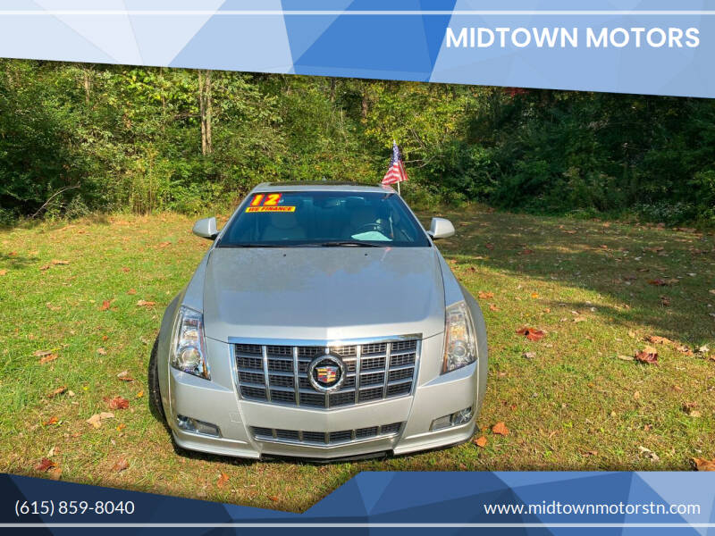 2012 Cadillac CTS for sale at Midtown Motors in Greenbrier TN