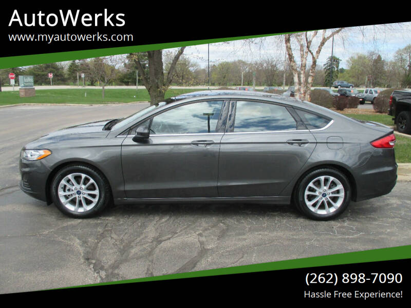 2020 Ford Fusion for sale at AutoWerks in Sturtevant WI