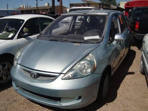 2007 Honda Fit for sale at One Community Auto LLC in Albuquerque NM