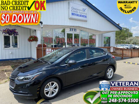 2017 Chevrolet Cruze for sale at North Oakland Motors in Waterford MI