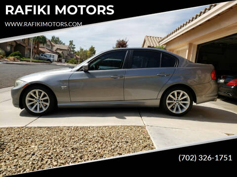 2011 BMW 3 Series for sale at RAFIKI MOTORS in Henderson NV