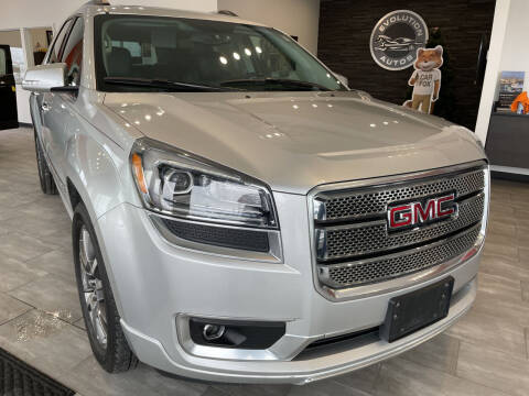 2013 GMC Acadia for sale at Evolution Autos in Whiteland IN
