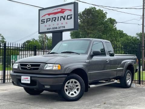 2005 Mazda B-Series Truck for sale at Spring Motors in Spring TX