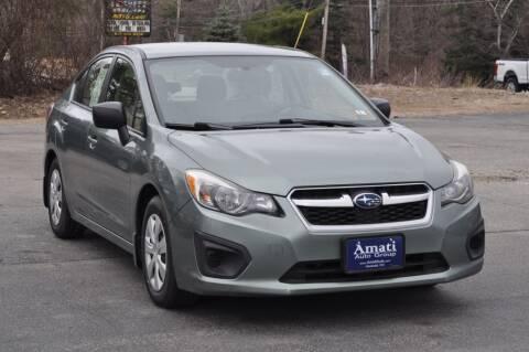 2014 Subaru Impreza for sale at Amati Auto Group in Hooksett NH