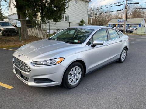 2014 Ford Fusion for sale at AMERI-CAR & TRUCK SALES INC in Haskell NJ