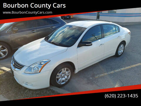 2011 Nissan Altima for sale at Bourbon County Cars in Fort Scott KS