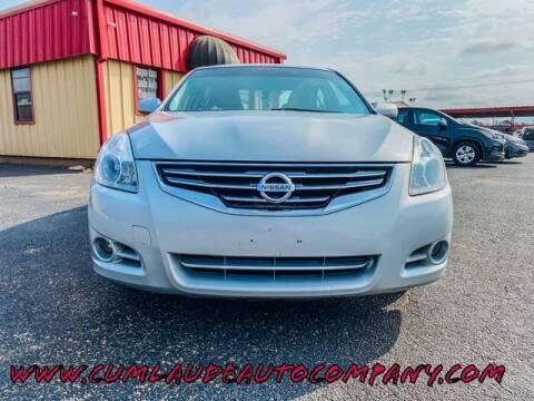 2012 Nissan Altima for sale at MAGNA CUM LAUDE AUTO COMPANY in Lubbock TX