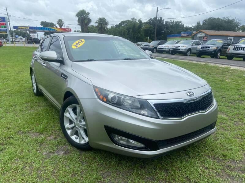2012 Kia Optima for sale at Unique Motor Sport Sales in Kissimmee FL