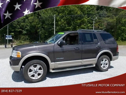 2005 Ford Explorer for sale at Titusville Motor Company in Titusville PA